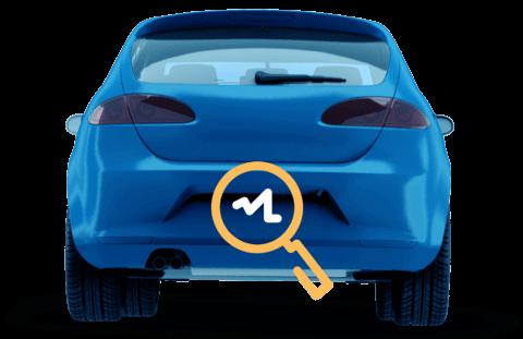 Carro Azul - Consultar Placa